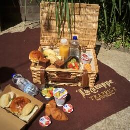 Picknick voor onderweg